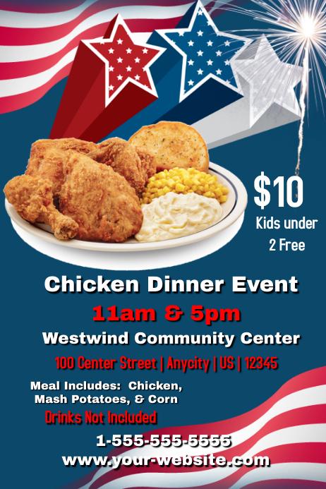 chicken dinner event