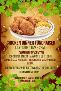 Chicken Dinner Fundraiser Template