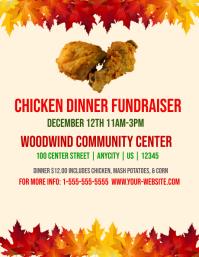 Chicken Dinner Fundraisor Template