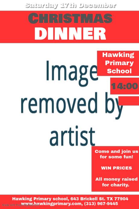 s day dinner flyer template