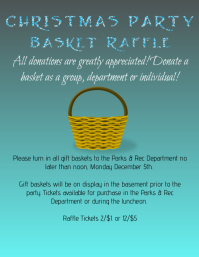 Design a winning raffle flyer postermywall for Christmas raffle poster templates