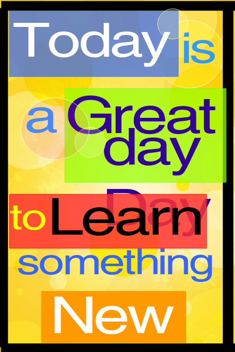Classroom Motivational Poster Template Postermywall