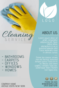 cleaning services advertising templates - cleaning service flyer templates postermywall