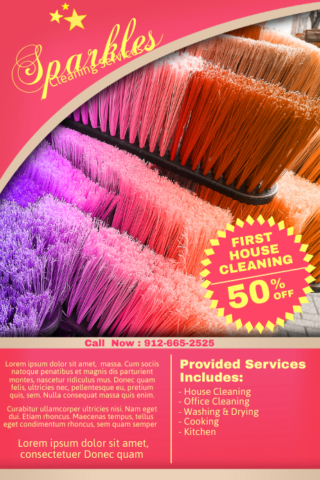 cleaning service flyer templates postermywall. Black Bedroom Furniture Sets. Home Design Ideas