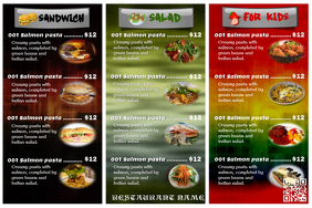 Touch Of Soul Cafe Menu