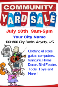 Related Keywords & Suggestions for Yard Sale Flyer