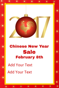 Chinese New Year Sale Template