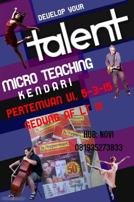 MICRO TEACHING KENDARI PERTEMUAN VI
