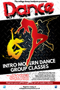 Dance poster