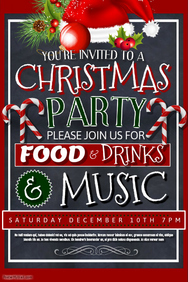christmas party poster ideas - photo #23