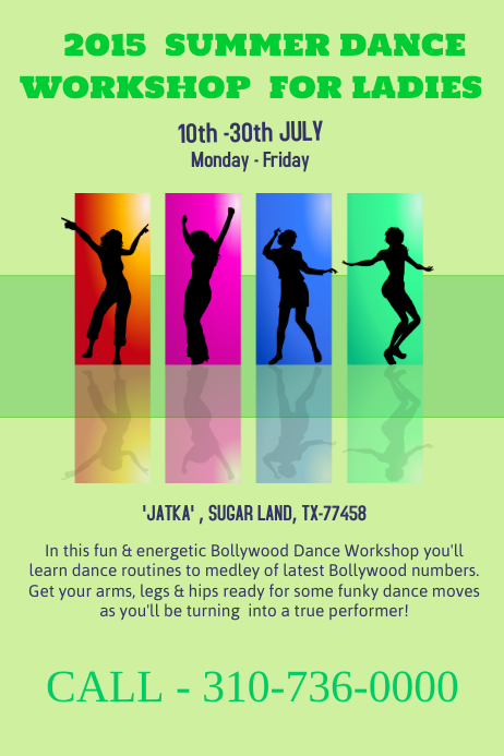 Dance And Ballet Poster Templates Postermywall
