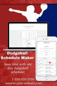 Dodgeball Schedule Maker
