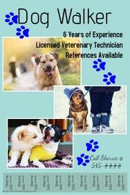 Pets Flyer Templates | PosterMyWall ... Website Template; Dog Walker ...