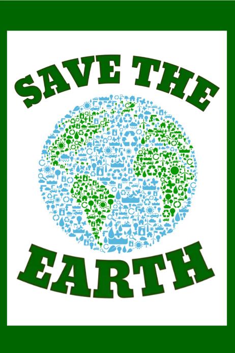 Calendar Poster Maker : Environment poster templates postermywall