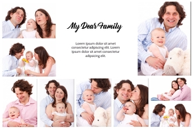 Family Collages idea