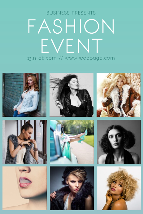 Fashion Event Flyer Template | PosterMyWall