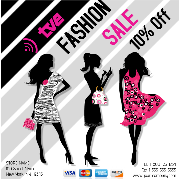 Fashion Sale Template | PosterMyWall
