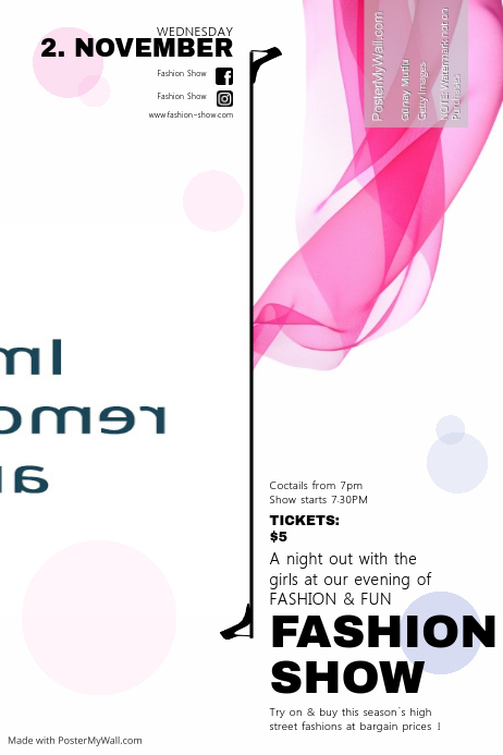 Fashion Show template | PosterMyWall