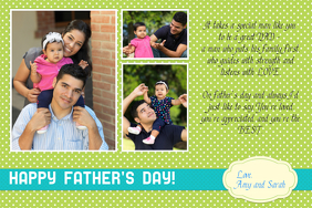 fathers day photo collage template