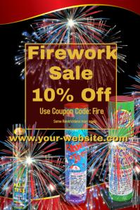 Firework Sale Event Template