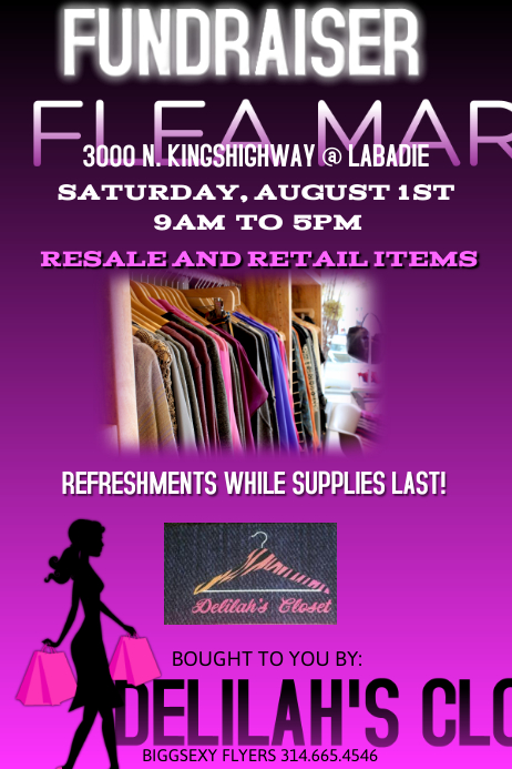 retail flyer template