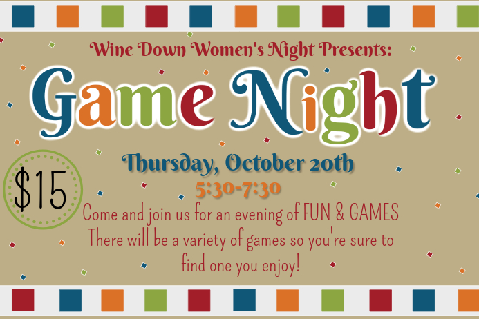 Game Night Flyer template | PosterMyWall