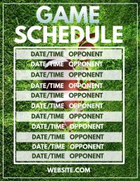 Game Schedule