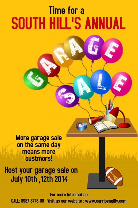 How to hold a successful garage sale! A step-by-step guide.