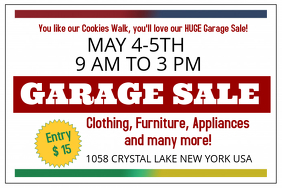 New Poster Templates perfect for your Garage Sale! | Design Studio
