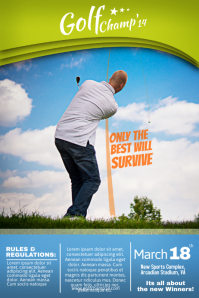 Sample Golf Posters