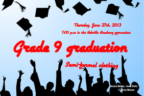 Graduation Poster Template
