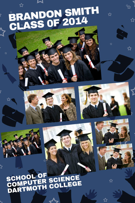 Graduation Poster Templates | PosterMyWall