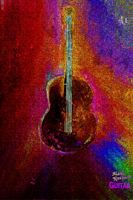 Guitar custom posters for your concert.. #guitar #RocknRoll
