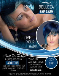 Retail poster templates postermywall for Abc beauty salon