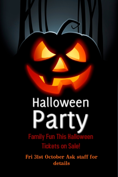 free halloween flyer templates - halloween flyer templates postermywall