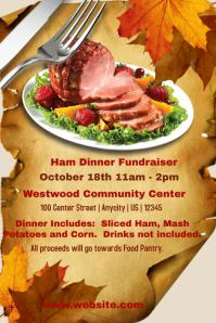 Ham Dinner Fundraiser Template