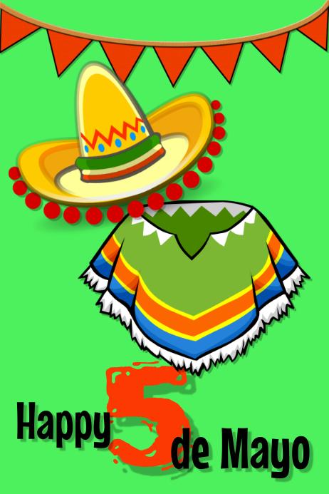 Happy 5 De Mayo Postermywall