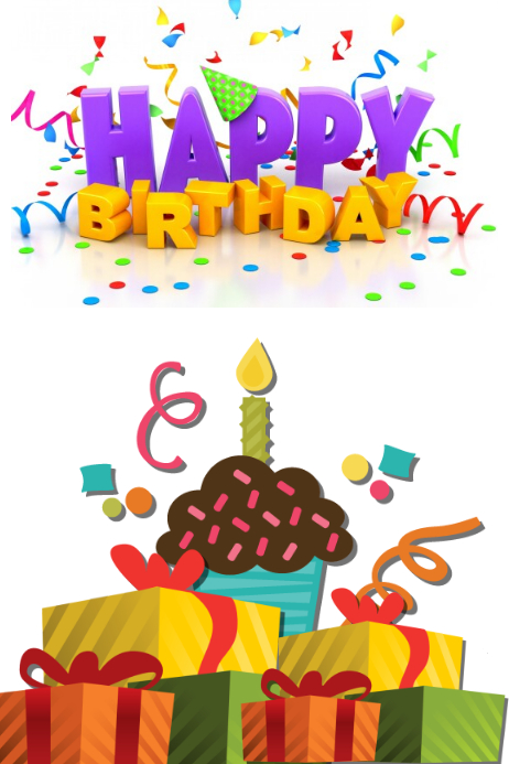 happy birthday card template postermywall
