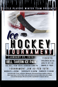 Hockey Poster Templates Postermywall