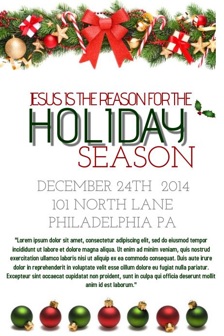 free christmas flyer templates - photo #28