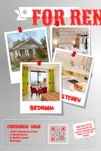 rental property flyer template - customizable design templates for apartment postermywall