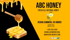 Homemade Honey Business Carc