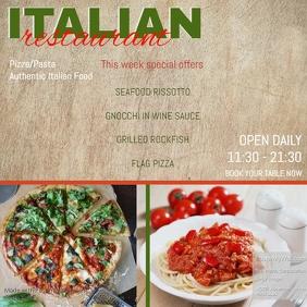 italian restaurant insta