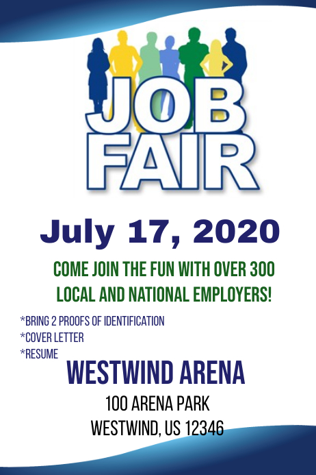 Job Fair Flyer Template Postermywall