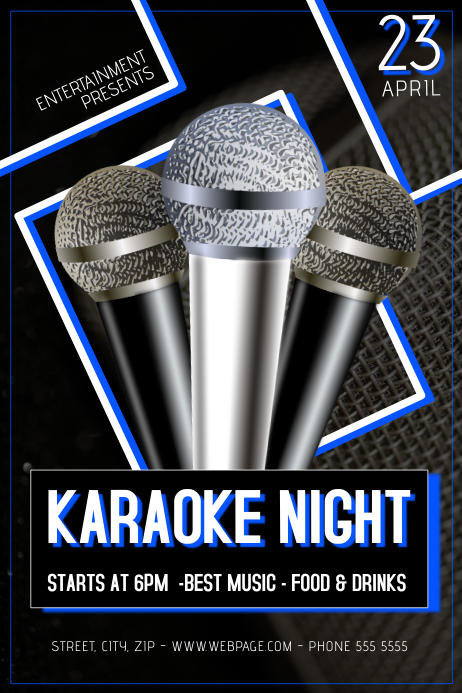 Karaoke Night Flyer Template | Special Offers