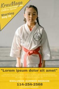 Sample Karate Posters