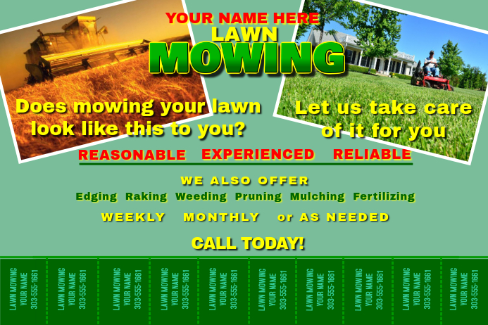how to run a successful lawn mowing business
