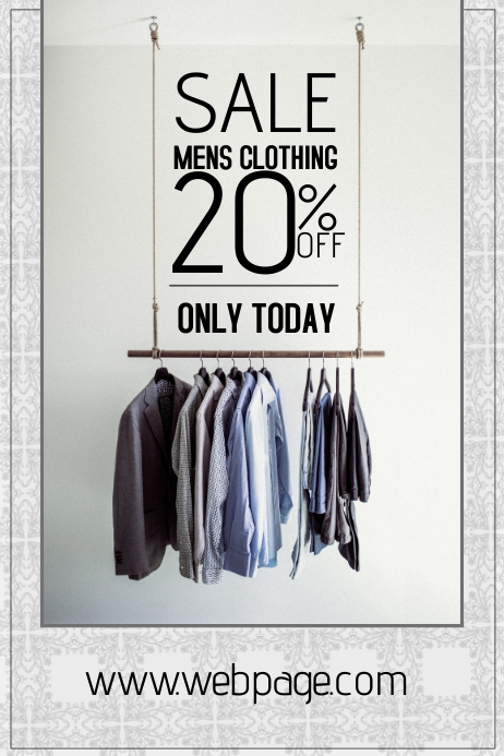 microsoft templates sales flyer clothing