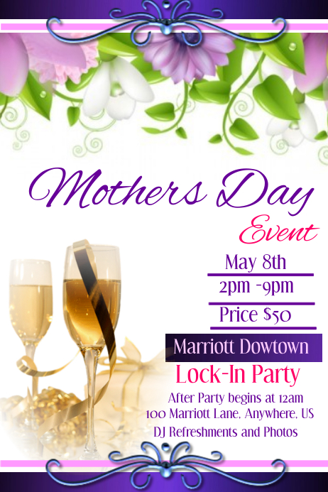 Mothers Day Event template | PosterMyWall