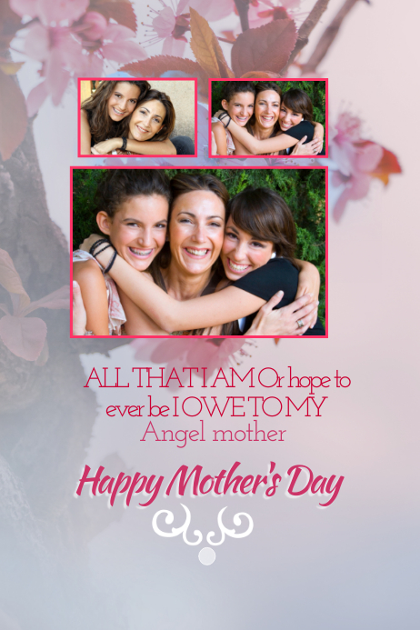 mother u0026 39 s day poster templates